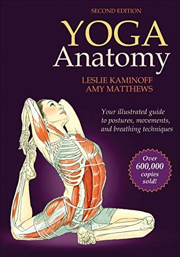 Yoga Anatomy-2nd Edition from Human Kinetics Publishers