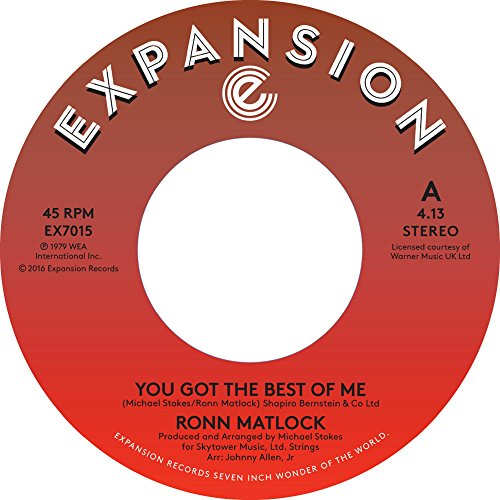 "You Got The Best Of Me / I Can't Forget About You [7"" VINYL]"