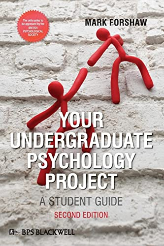 Your Undergraduate Psychology (Bps Student Guides) from John Wiley & Sons