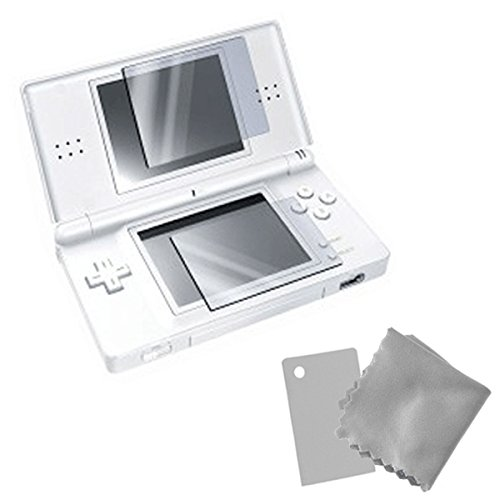 ZedLabz pack of 4 top & bottom clear screen protectors inc cleaning cloth for Nintendo DS Lite from ZedLabz