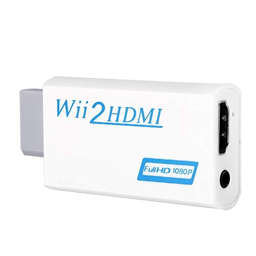Wii to HDMI Converter, 720P/1080P Output Game Enthusiast Adapter Upscaling Adapter Coverter from Zerone