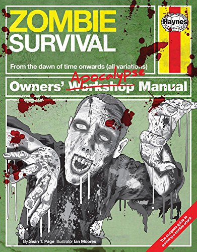 Zombie Survival Manual: The complete guide to surviving a zombie attack (Owners Apocalypse Manual) from imusti