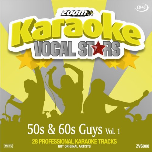 Zoom Karaoke CD+G - 50s & 60s Guys - Vol. 1 - Vocal Stars Karaoke Series ZVS008