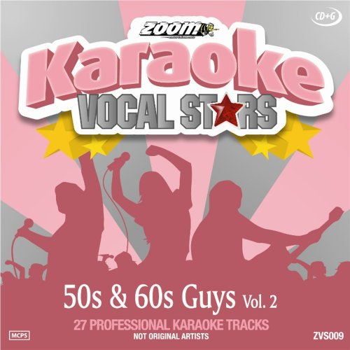 Zoom Karaoke CD+G - 50s & 60s Guys - Vol. 2 - Vocal Stars Karaoke Series ZVS009