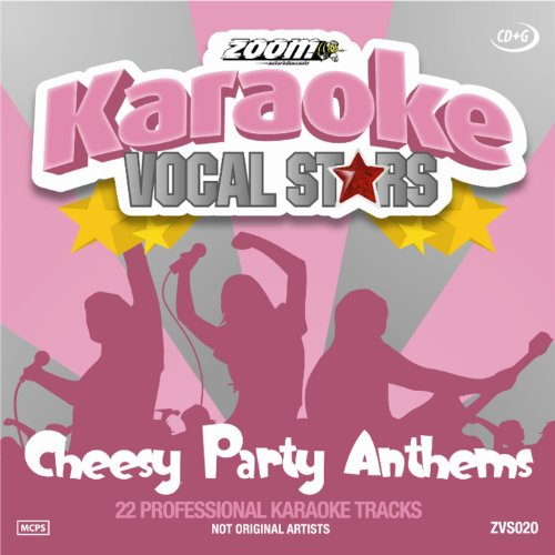Zoom Karaoke CD+G - Cheesy Party Anthems - Vocal Stars Karaoke Series 20 [Card Wallet]