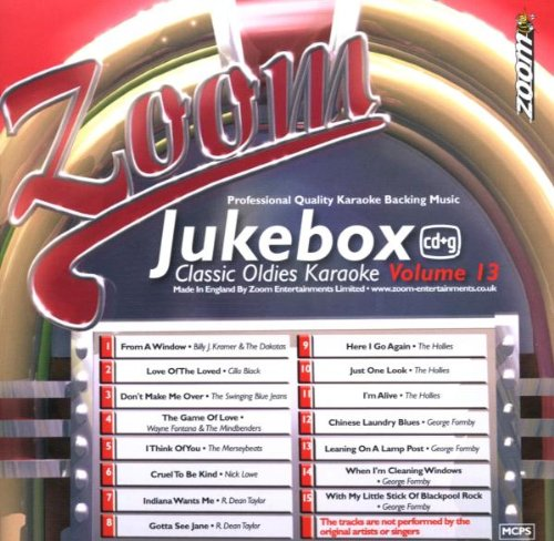 Zoom Karaoke CD+G - Jukebox Series Volume 13: Classic Oldies