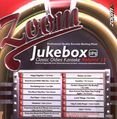Zoom Karaoke CD+G - Jukebox Series Volume 15: Classic Oldies