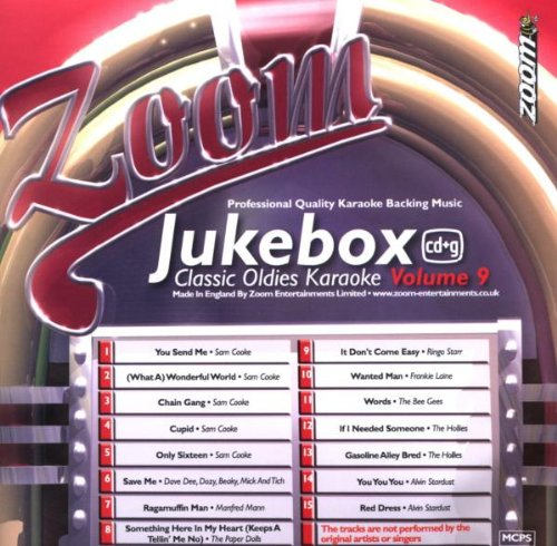 Zoom Karaoke CD+G - Jukebox Series Volume 9: Classic Oldies