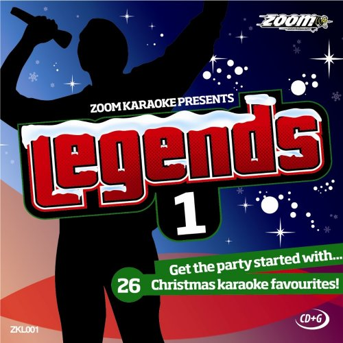 Zoom Karaoke CD+G - Legends Volume 1 - 26 Christmas Hits [Card Wallet]
