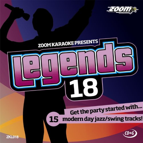 Zoom Karaoke CD+G - Legends Volume 18 - 15 Jamie Cullum Tracks [Card Wallet]