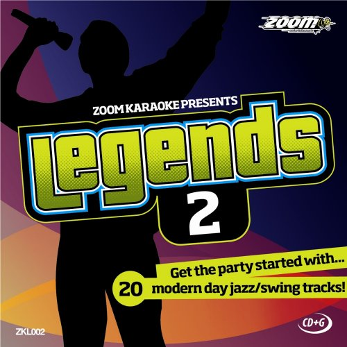 Zoom Karaoke CD+G - Legends Volume 2 - 20 Jazz/Swing Tracks [Card Wallet] from Zoom Karaoke