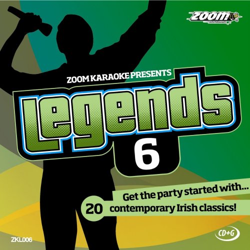 Zoom Karaoke CD+G - Legends Volume 6 - 20 Irish Contemporary Classics [Card Wallet]