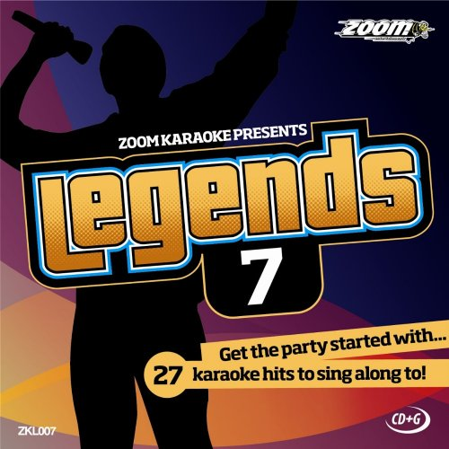 Zoom Karaoke CD+G - Legends Volume 7 - Beatles/Kinks/Dave Clark Five/Manfred Mann/Who [Card Wallet] from Zoom Karaoke