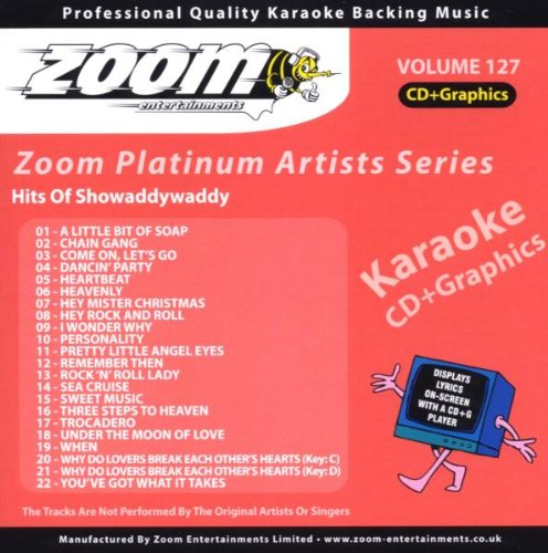 Zoom Karaoke CD+G - Platinum Artists 127: Showaddywaddy