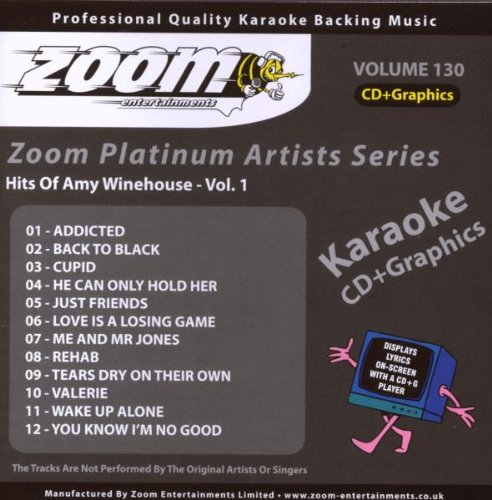 Zoom Karaoke CD+G - Platinum Artists 130: Amy Winehouse