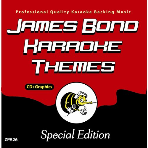 Zoom Karaoke CD+G - Platinum Artists 26: James Bond Themes