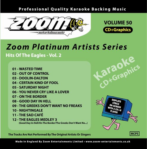 Zoom Karaoke CD+G - Platinum Artists 50: The Eagles 2