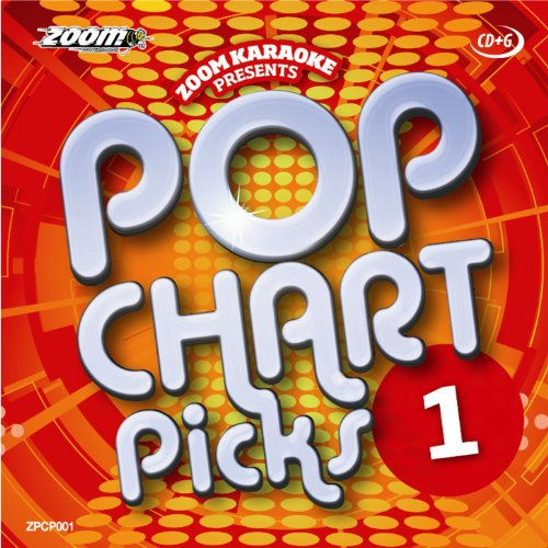 Zoom Karaoke CD+G - Pop Chart Picks 1 - 19 Tracks [Card Wallet]