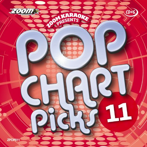 Zoom Karaoke CD+G - Pop Chart Picks 11 - 20 Tracks [Card Wallet]