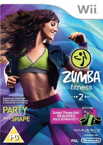 Zumba 2 Fitness (Wii) - Game Only from 505 Games
