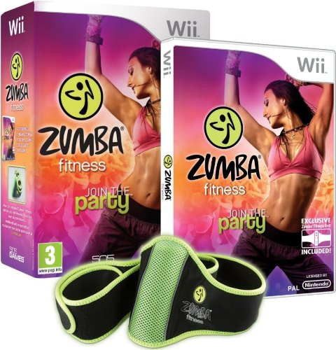 Zumba Fitness Wii - Bundle Pack with Belt accessory from 505 Games
