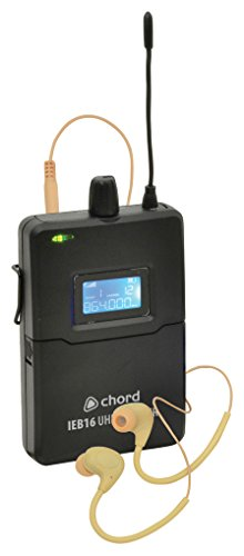 chord 171.893UK Belt Pack Receiver for IEM16 Monitor System - Black from Chord & Major