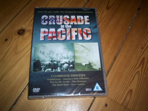 crusade in the pacific    guadalcanal - america's first offensive, war in the north - the aleutians, the road back - new guinea from musicbank