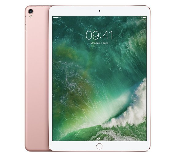 Apple iPad Pro 10.5 Inch Wi-Fi 64GB - Rose Gold from Apple