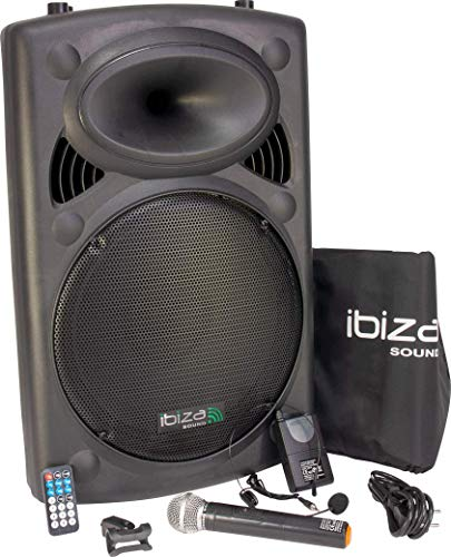 ibiza sound PORT15VHF-BT Portable PA Speaker System from Ibiza