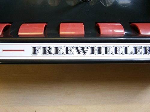 iqgamesroom Freewheeler rollerball plastic wallrack for 6 pool snooker cues