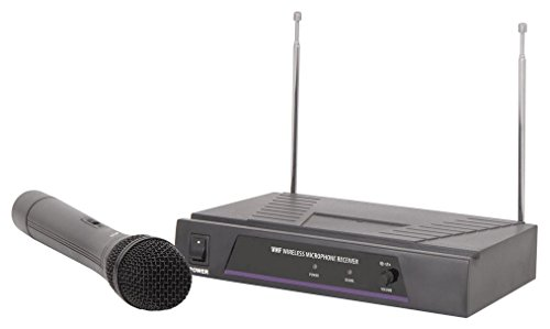 qtx 171.804UK VHF Handheld Mic Wireless System from qtx