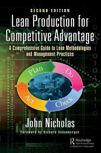 Lean Production for Competitive Advantage: A Comprehensive Guide to Lean Methodologies and Management Practices, Second Edition from Productivity Press