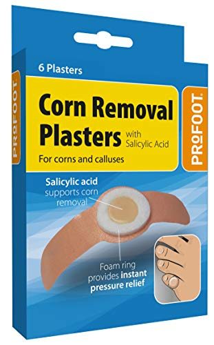 Profoot Corn Removal Plaster - 2 packs of 6 from Profoot