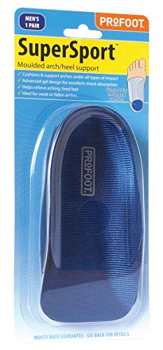 Profoot Super Sport Moulded Arch/Heel Support Men Pr from Profoot