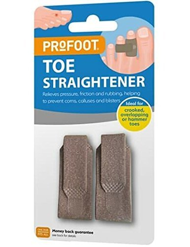 Profoot Toe Straightener Toe Straight Hammertoe Wrap - 1 Pair X 3 from Profoot