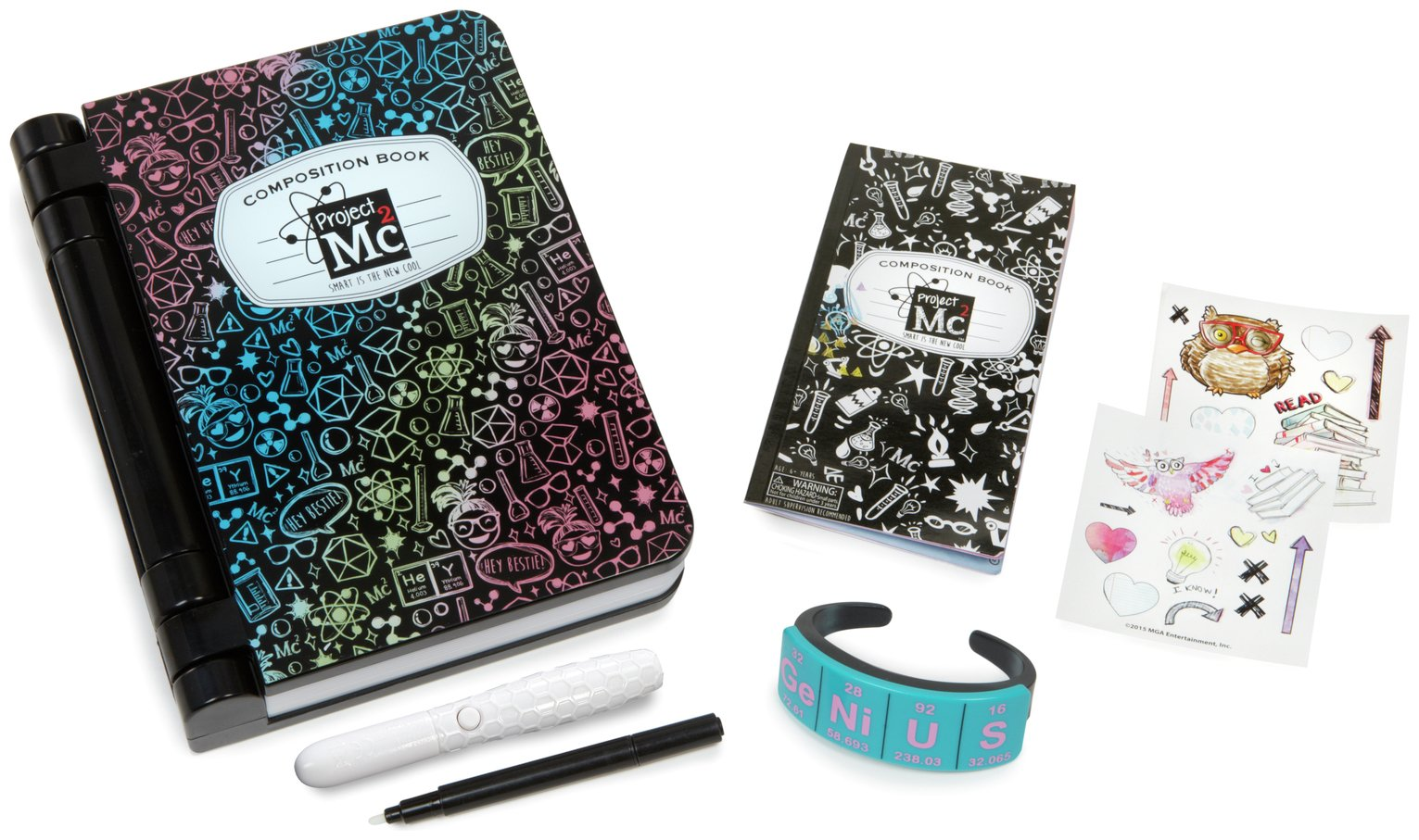 Project MC2 Adisn Journal Spy Notebook from Project Mc2