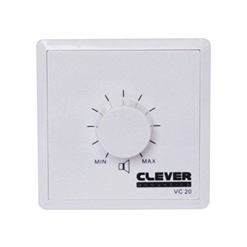 Clever Acoustics VC20 100v 20w Volume Control from Prolight