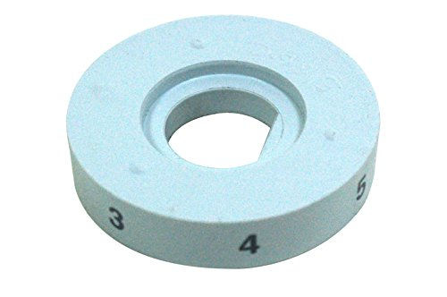 Proline White Knight Hotplate Knob Indicator Disc. Genuine part number 402056 from Proline