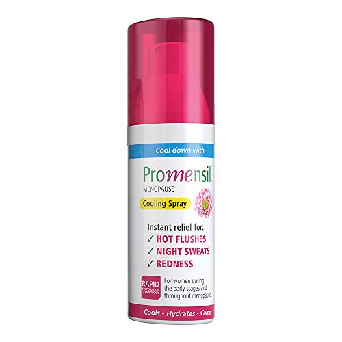 Promensil Menopause | Cooling Spray | Hot Flushes | Instant Relief | Night Sweats | Redness | 75ml from Promensil