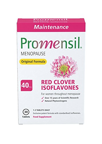 Promensil Menopause | Original Maintenance | Red Clover | Isoflavones | 40mg | 30 Tablets from Promensil