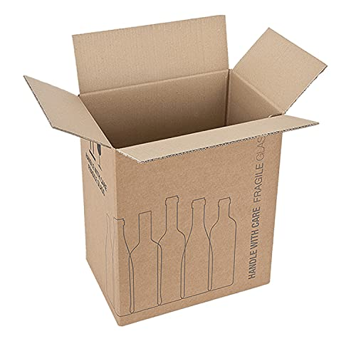 Propac z-box342340 a Box Bottle Holder, 34 x 23 x 40 cm, Pack of 10 from Propac