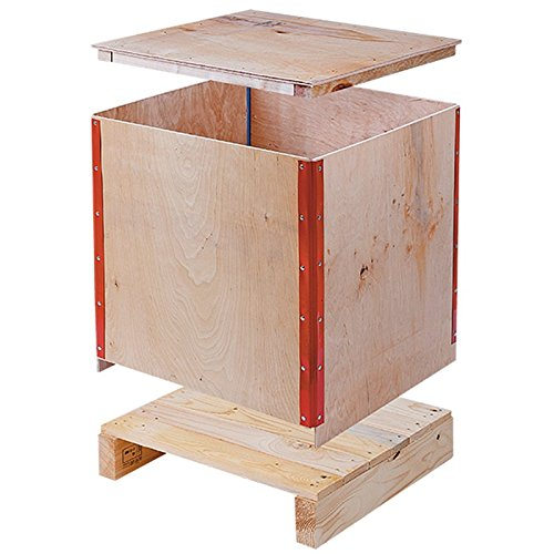 Propac z-casl806045 Folding Wooden Crates, 80 x 60 x 45 cm, 250 KG from Propac