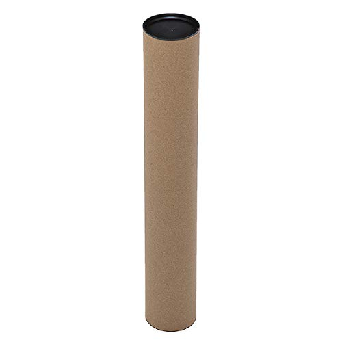 Propac z-tuk865 Tube of dispatch Cardboard Havana, 8 cm x 65 cm, Pack of 10 from Propac