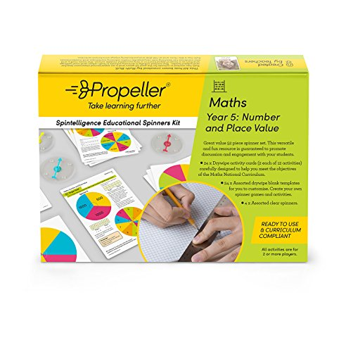 Spintelligence, Year 5, Numer and Place Value from Propeller Education