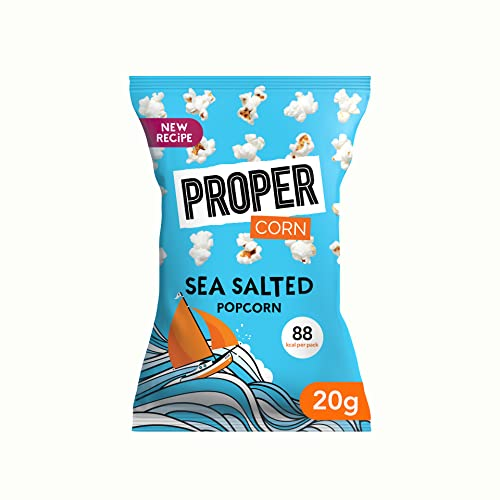 PROPERCORN Lightly Sea Salted Popcorn(Pack of 24) from Propercorn