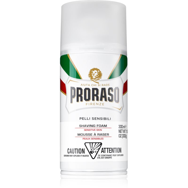Proraso Pelli Sensibili Shaving Foam for Sensitive Skin 300 ml from Proraso