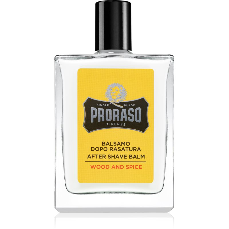 Proraso Wood and Spice Moisturizing After Shave Balm 100 ml from Proraso