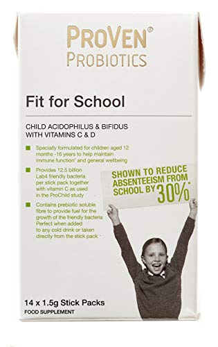 Proven Probiotics Fit for School Stick - Pack of 14 from Proven Probiotics