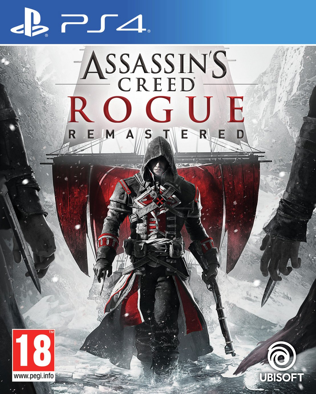 Assassins Creed Rogue HD PS4 Game from Ps4 pro enhanced