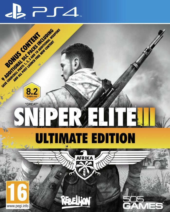 Snipers Elite 3 Ultimate Edition - PS4 Game from Ps4